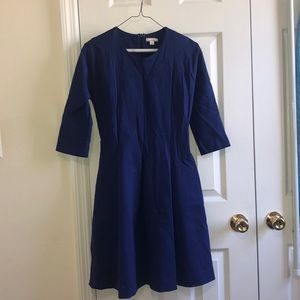 Gap size 2 blue jersey dress